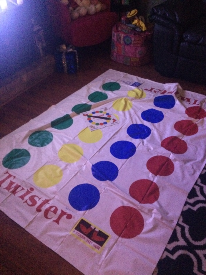 Playing Twister is an excellent way to be successful, don't you think?!